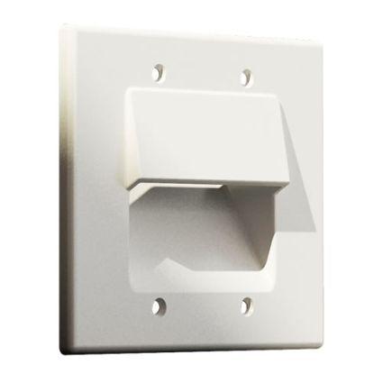 Панель для крепления и укладки кабеля на стене CS01-2 (CS01-2 'CS01-2')