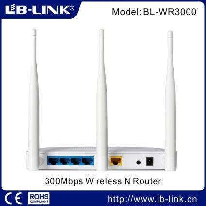 Безпроводной Wi-Fi роутер LB-Link BL-WR3000