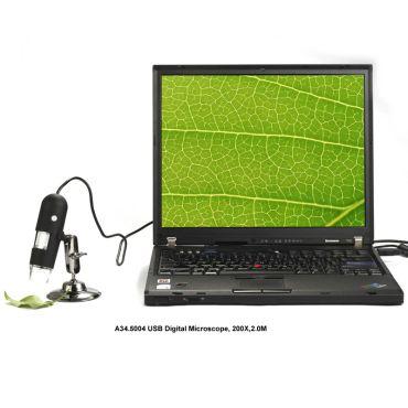 Цифровий USB мікроскоп A34.5004