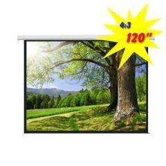 Экран для проектора моторизированный 240*180 PSAC120 (4:3)